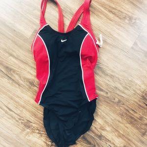 Nike One Piece Racerback Swim Suit